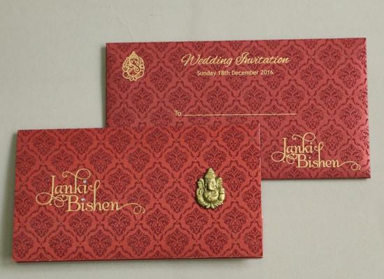 Plaza Small Wedding Card Paper Plaza
